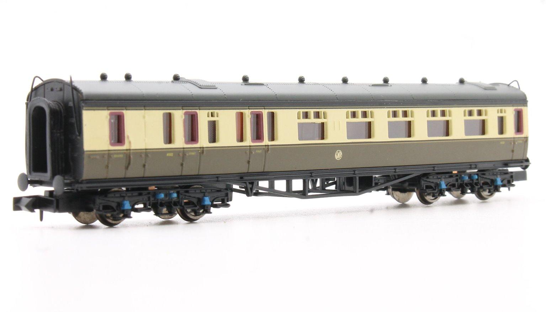 Collett Coach GWR S/B Chocolate & Cream Brake Composite 6532