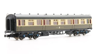 Collett Coach GWR Crest Chocolate & Cream Composite 7047