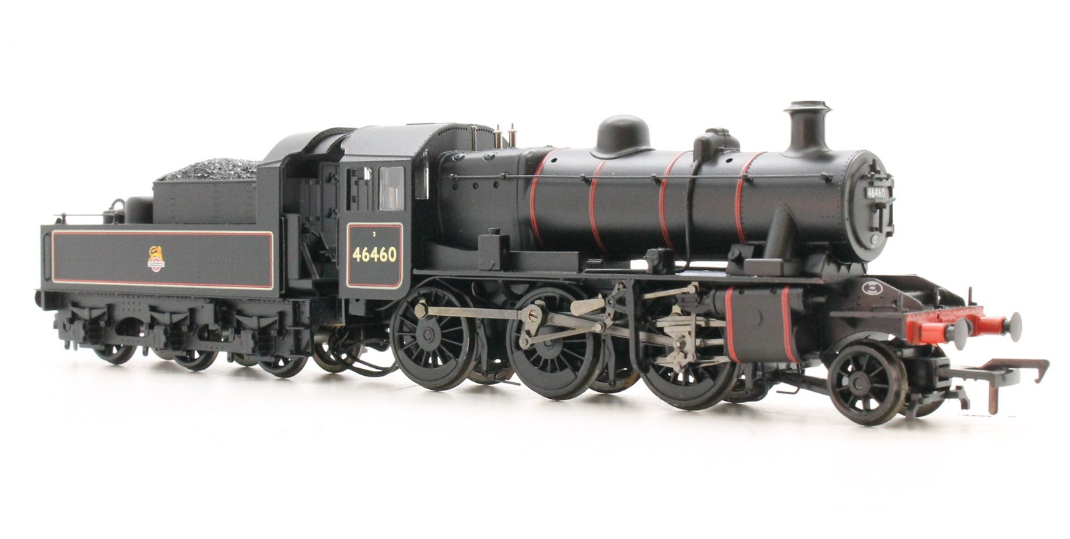 Ivatt Class 2MT BR Black Early Emblem 2-6-0 Locomotive 46460