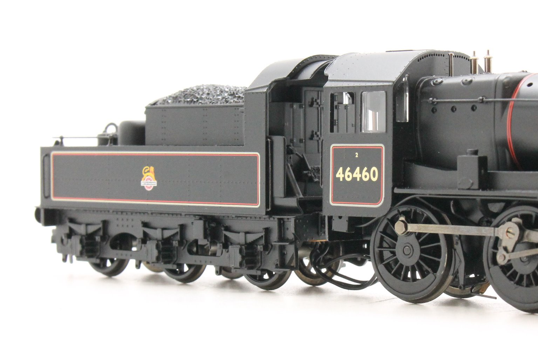 Ivatt Class 2MT BR Black Early Emblem 2-6-0 Locomotive 46460