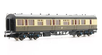 Collett Coach GWR Crest Chocolate & Cream Brake Composite 6541