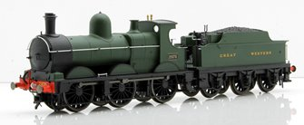 GWR Green 0-6-0 Dean Goods Locomotive #2475 DCC Sound