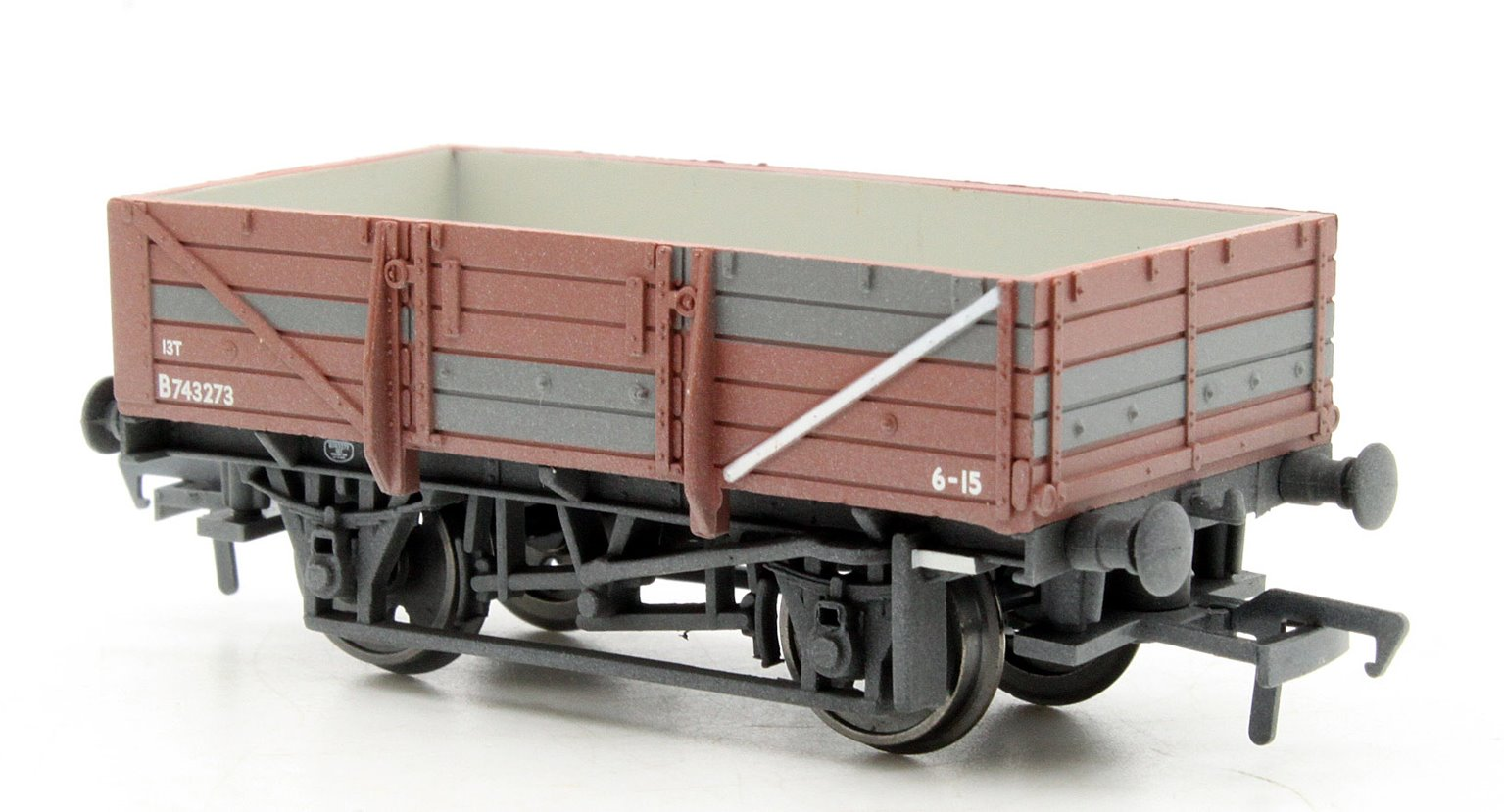 5 Plank China Clay Wagon without Hood BR Bauxite Weathered