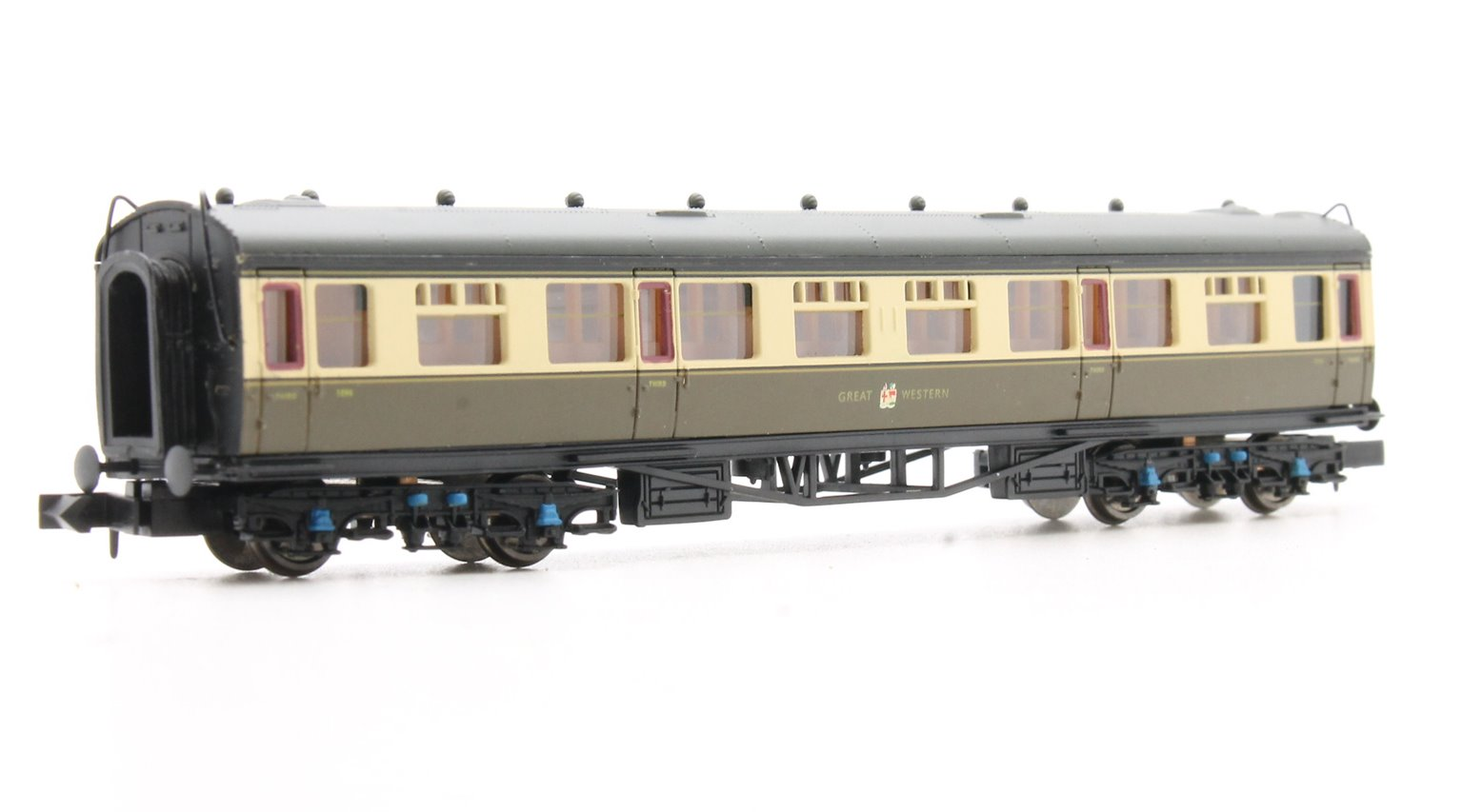 Collett Coach GWR Crest Chocolate & Cream 3rd Class 1096