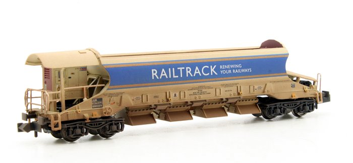 JJA Mk2 Auto-Ballaster Generator Unit Railtrack Weathered