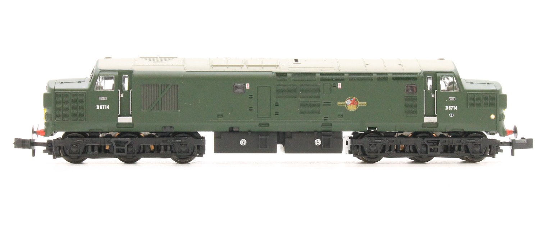 Class 37/0 D6714 BR Green Small Yellow Panel Split Head Code
