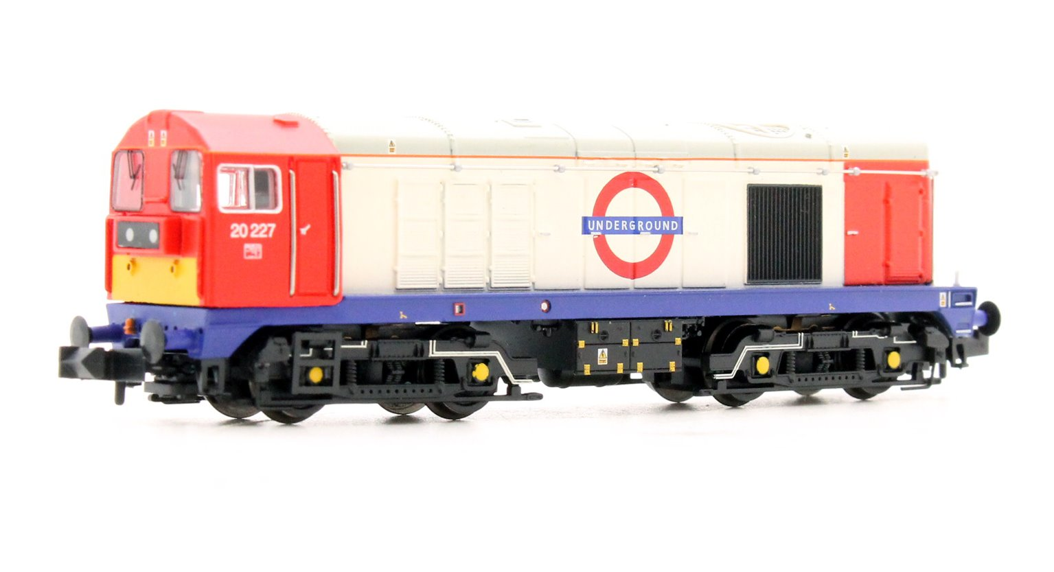 Class 20 227 London Underground Diesel Locomotive