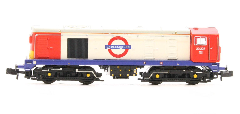 Class 20 227 London Underground Diesel Locomotive