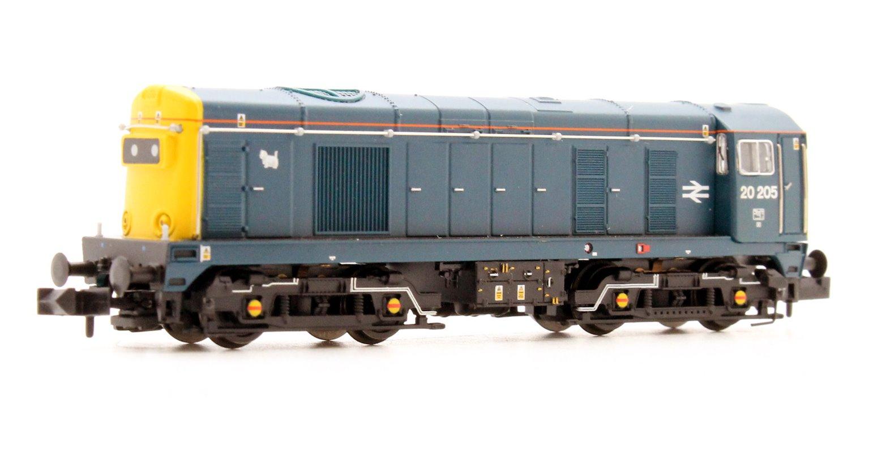 Class 20 205 BR Blue Diesel Locomotive