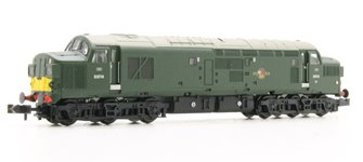 Class 37/0 D6714 BR Green Small Yellow Panel Split Head Code
