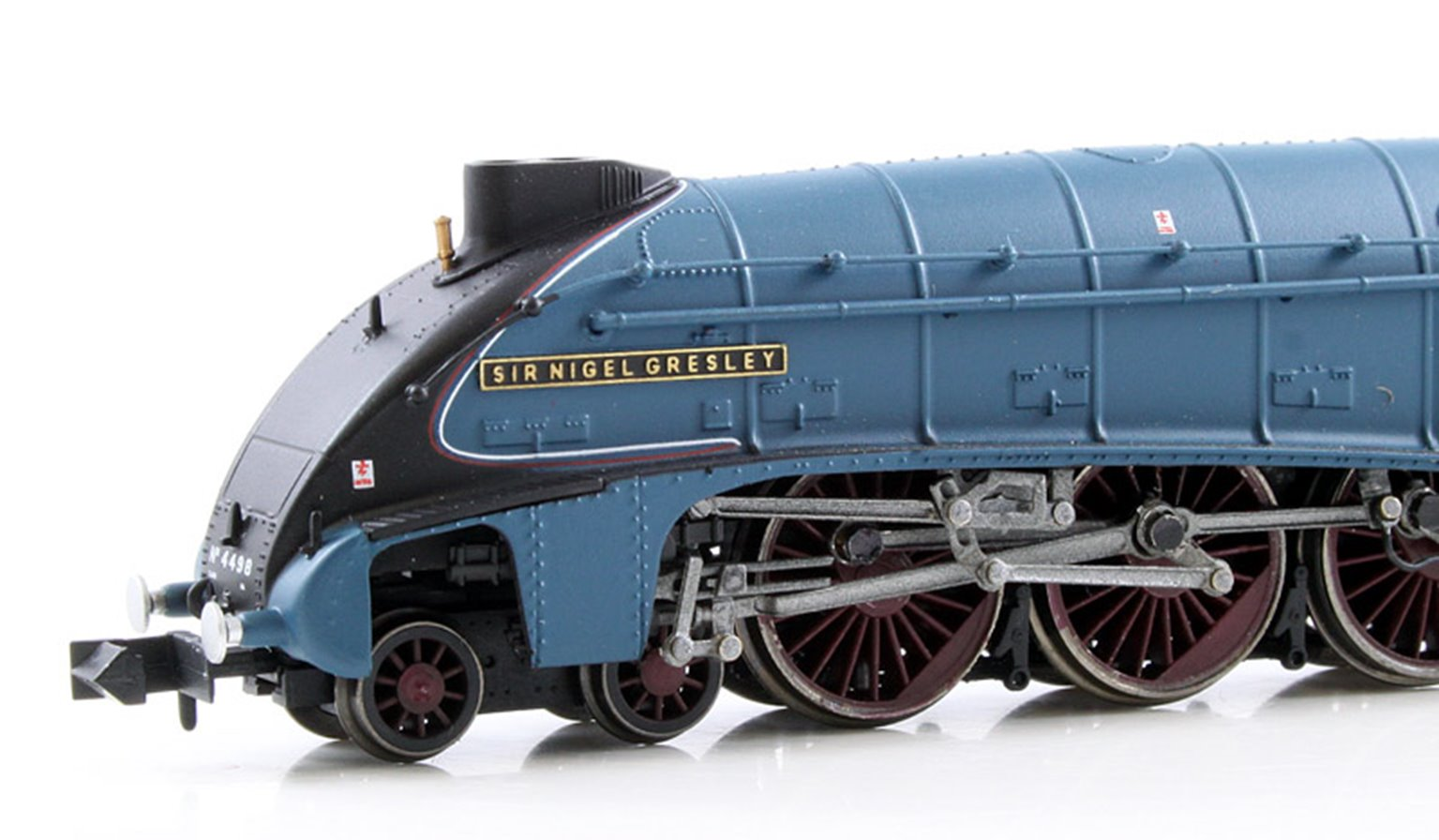 Class A4 'Sir Nigel Gresley' #4498 LNER Blue (Preserved) Double Chimney - DCC Fitted
