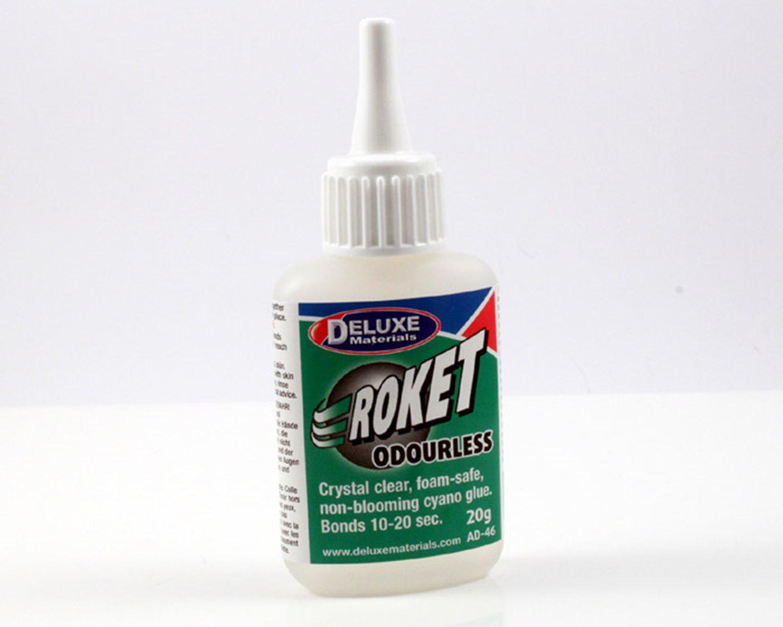 Deluxe Materials Roket Odourless Super Glue
