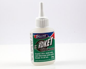 Deluxe Materials Roket Odourless Super Glue