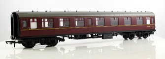 BR Mk1 Composite Coach - BR Maroon M15625