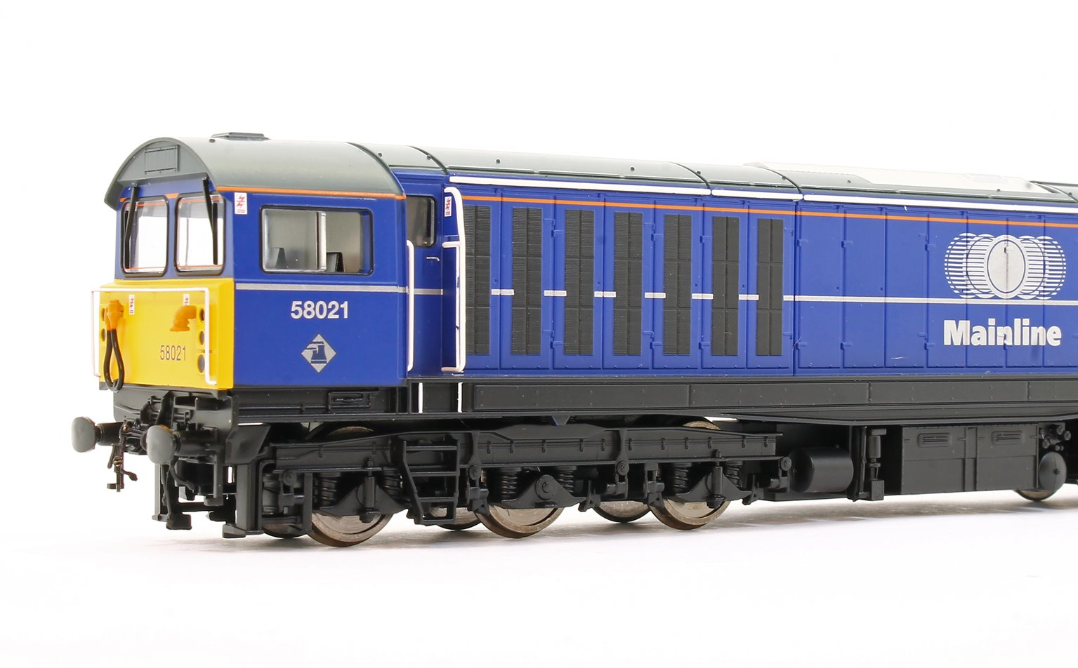 Class 58 58021 'Hither Green Depot' Mainline Blue Diesel Locomotive