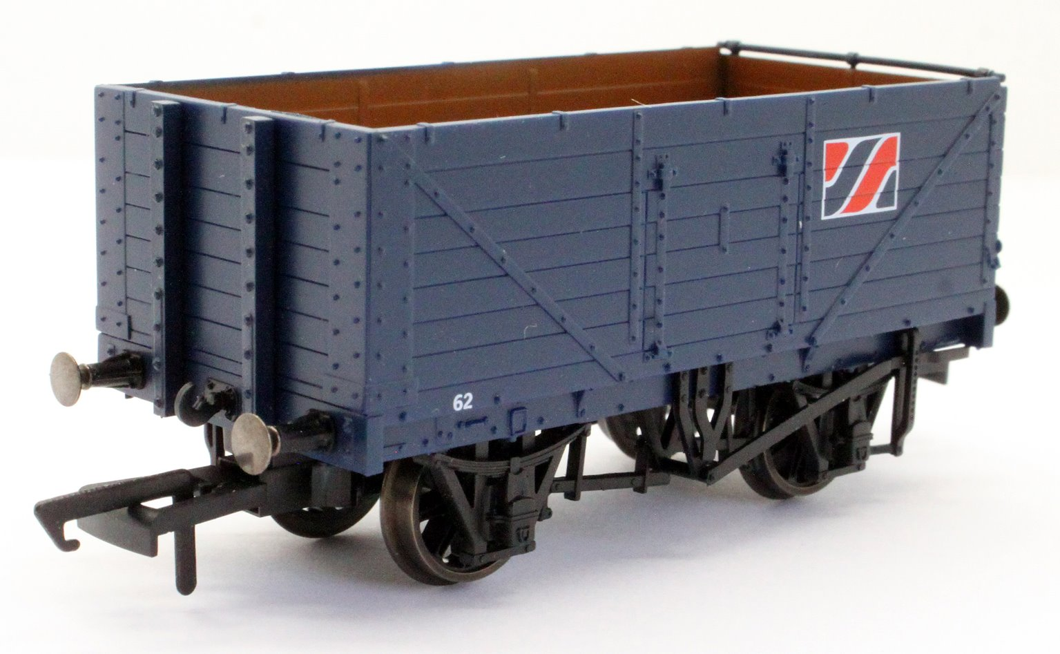 """Pack of three 7-plank open wagons """"Allied Steel and Wire"""""""
