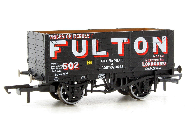 7 Plank Mineral Wagon - Wigan Fulton 602