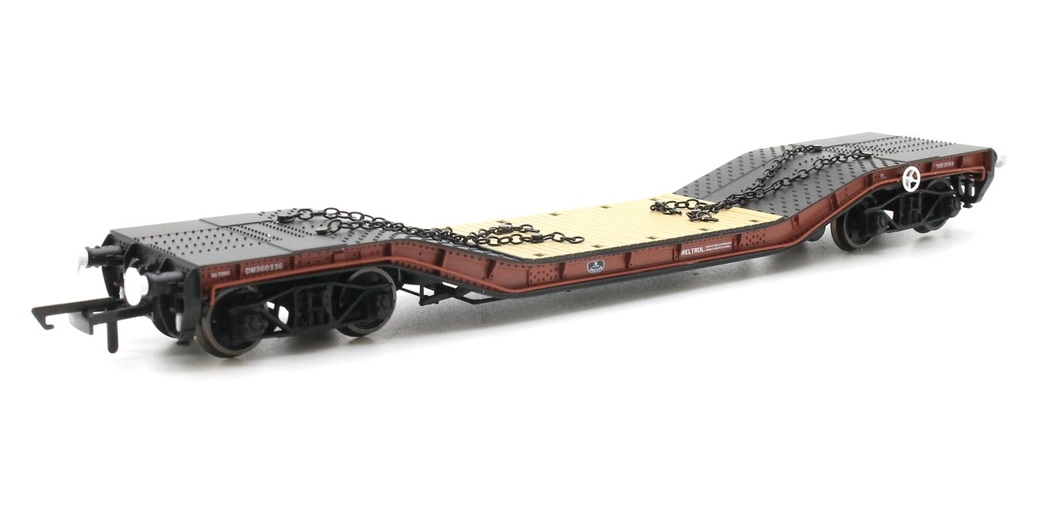 Warwell A Diamond Bogies BR Brown DM360331