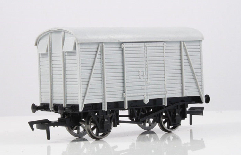 Unpainted Box Van