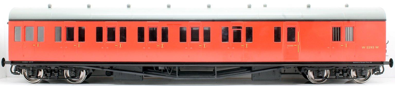 Suburban B 4 Coach Set BR Birmingham #48 Crimson