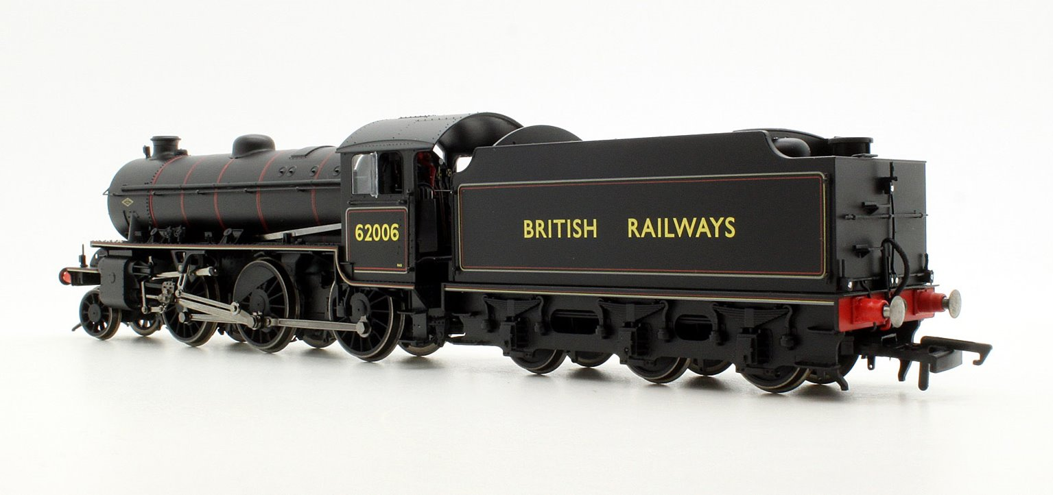 Class K1 BR Black (Early) 2-6-0 Steam Locomotive No.62006