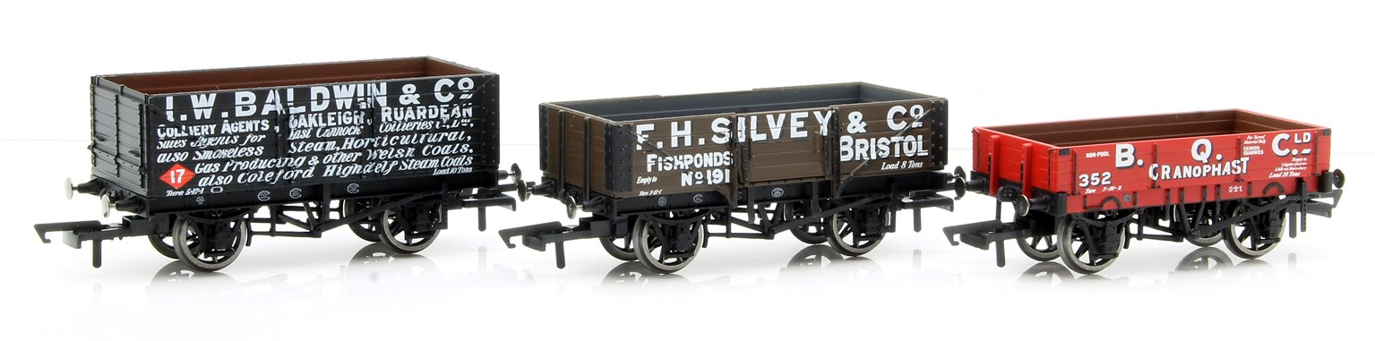 Plank Wagons, three pack, Various