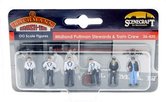 Midland Pullman Stewards and Train Crew