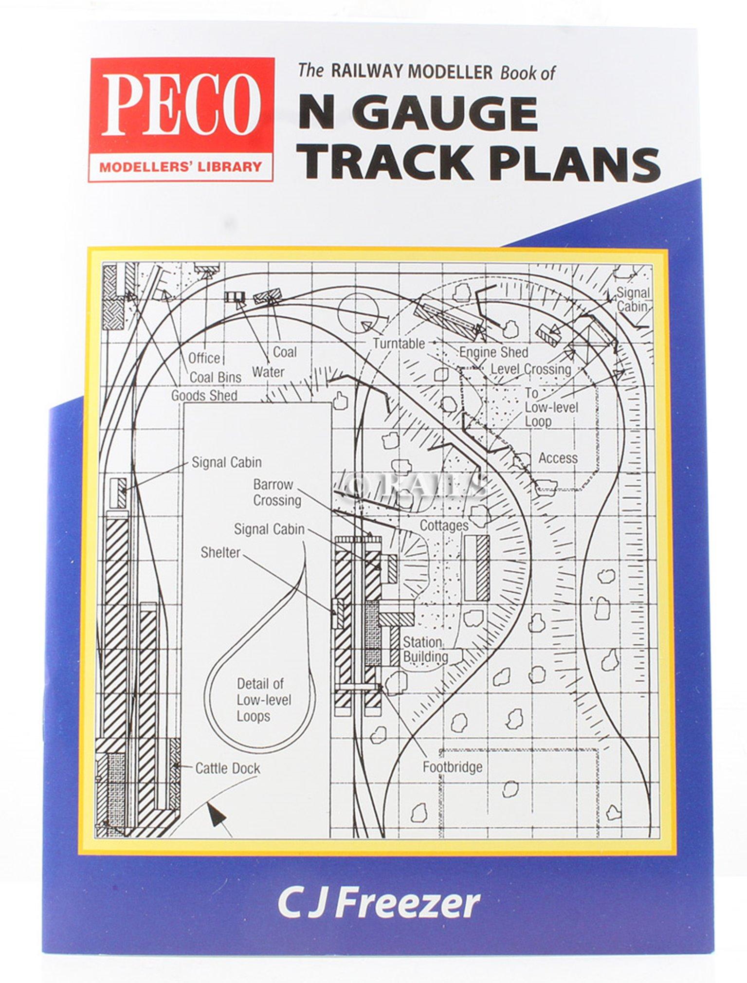 The Railway Modeller Book of N Gauge Track Plans