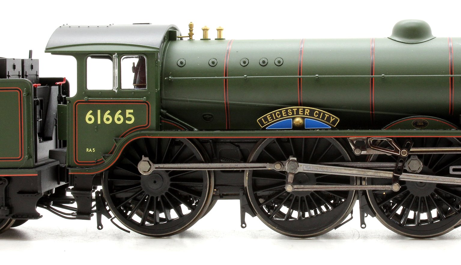 BR 4-6-0 'Leicester City' '61665', B17 Class, Early BR