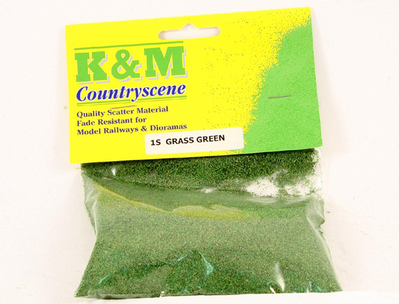 Green Grass Scatter Material