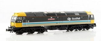 Class 47/7 'Sir Walter Scott' #47710 BR ScotRail