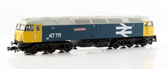 Class 47/7 'Greyfriars Bobby' #47711 BR Blue Large Logo