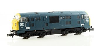 Class 22 BR Blue Full Yellow Ends Font A D6328 DCC