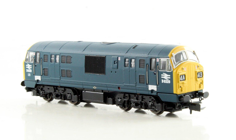 Class 22 BR Blue Full Yellow Ends Font A D6328 DCC