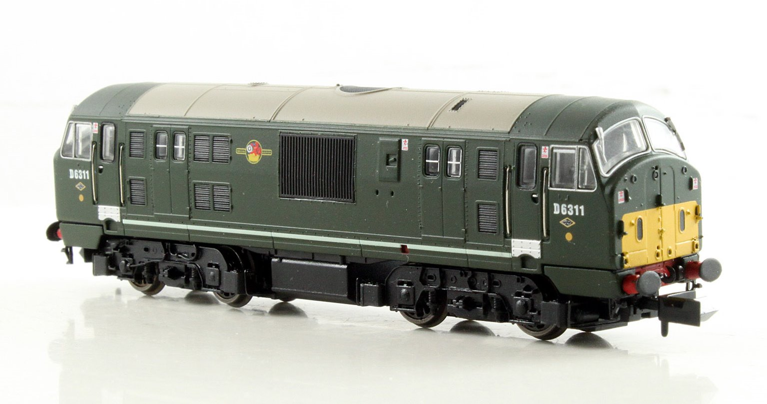 Class 22 BR Green D6311 DCC Fitted