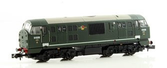 Class 22 BR Green D6326 Disc Headcode NO WP DCC Fitted