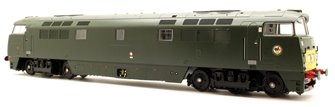 Western Yeoman BR Class 52 D1035 Western Yeoman Green SYP - DCC Fitted