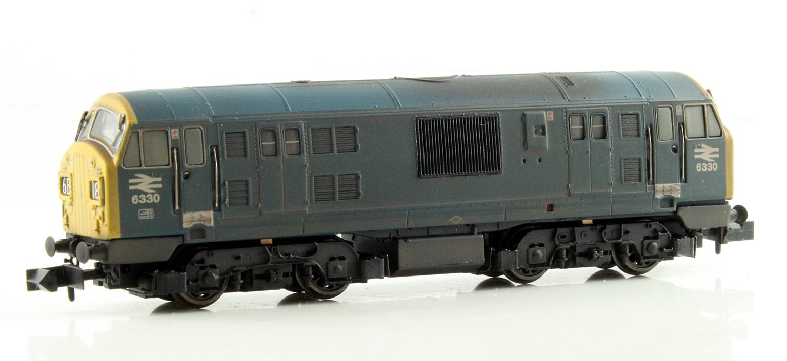 Class 22 BR Blue FYP Weathered DCC Fitted