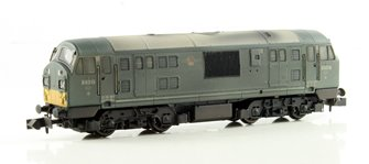 Class 22 BR Green SYP Font A D6315 Weathered DCC