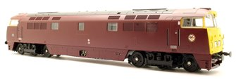 Western Gladiator Class 52 BR Maroon FYE D1016 - DCC Fitted