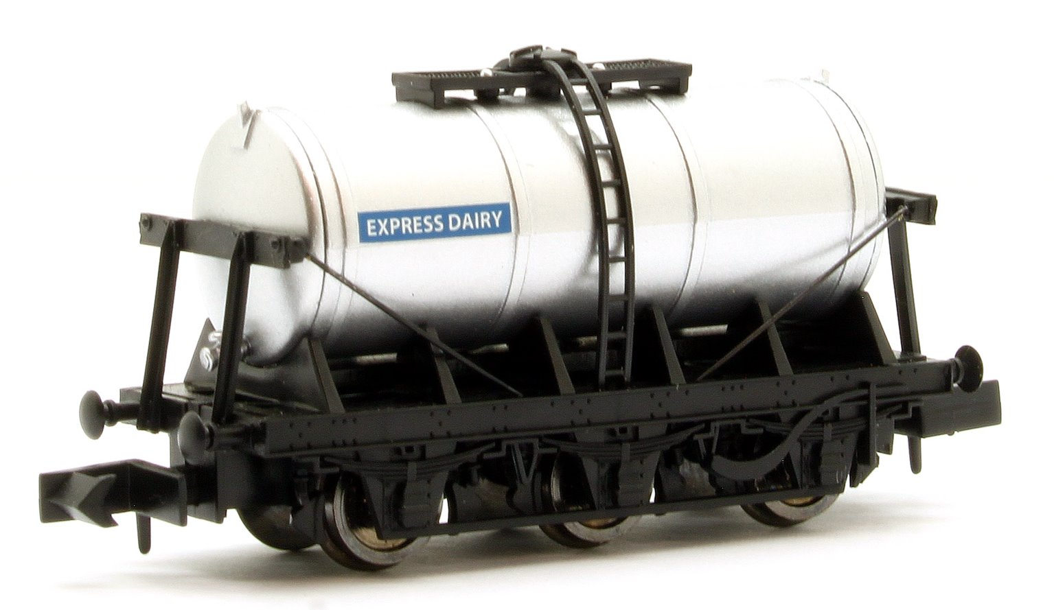 6 Wheel Milk Tanker Express Dairy (Silver)