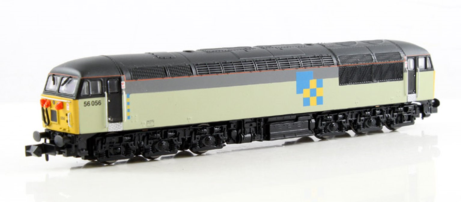 Class 56 (Doncaster built) Construction Livery #56056 - DCC Fitted