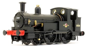 LSWR Beattie Well Tank with Square Splashers 30586 BR Black (Late Crest)