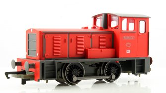 RailRoad Bagnall Shunter Locomotive