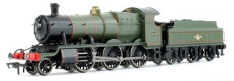 GWR Mogul 2-6-0 Locomotive #7310 in Lined Green with Late Crest (BR)