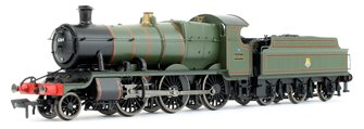 GWR Mogul 2-6-0 Locomotive #6364 in Lined Green with early Lion & Wheel Crest (BR)