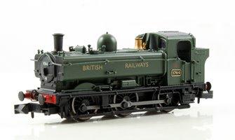 Class 57xx Pannier 0-6-0 #9744 In 'British Railways' Green livery