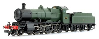 GWR Mogul 2-6-0 Locomotive #6385 Green with Shirt Button Roundel