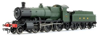 GWR Mogul 2-6-0 Locomotive Green with GWR & BR Smoke Box Number Plate #7301