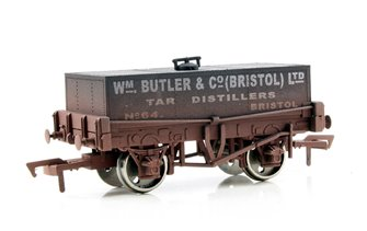 WM Butler & Co Rectangular Tank Wagon - Weathered